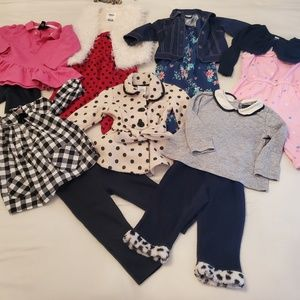 😍 13 pieces girl bundle 12-18m 😍